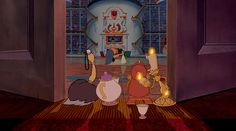 We Want To Live In The Beast's Castle Because, Library | Oh My Disney