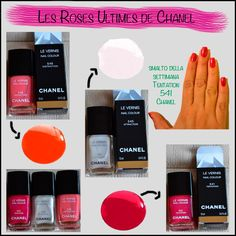 Chanel finger nails.