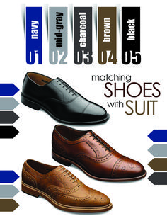 How To Match Shoes With A Suit In 2 Minutes