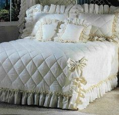 Image detail for -Country Ruffle Bedspreads