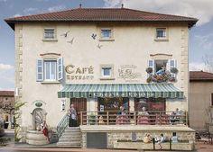 Patrick Commecy artista da vida fachadas francesas 3