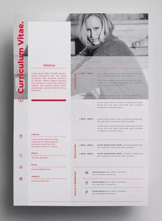 Resume Design by surotype on Envato Elements Entwurfsvorlagen AI, EPS - Entwurf in 300 Cv Resume Template, Resume Design Template, Design Templates, Portfolio Web, Portfolio Design, Cv Original Design, Conception Cv, Basic Resume, Visual Resume