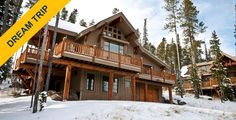 Take a Dream Trip to Moonlight Mountain Homes in Montana by supporting the kids at St. Jude. #ExpediaStJude