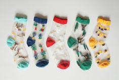 2015 new arrive Women series cartoon crystal glass fibre socks cartoon comic Ladies Sock Meias calcetines