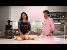JUISSEN SLOW JUICER receta zumo rojo, Xevi Verdaguer - YouTube