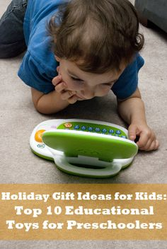 The Huge Family Holiday Gift Guide: Top 10 Educational Toys for Preschoolers