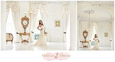 Bridal Session at Nottoway Planation by Valerie Romero Photography