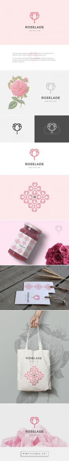 Roselade by Martina Cavalieri Few days ago I prepared a sweet cheesecake and i decided to use petal rose jam instead of the - created via https://pinthemall.net