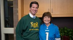 WSU Medical School and Detroit Lions Team-up