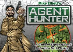 In Agent Hunter, two players act as rival agents attempting to eliminate their opponent's safe houses, which are represented by face-down cards; the cards range Hunter Games, Two Player Games, Ultimate Games, Player Card, Typing Games, Face Down, Strategy Games, Family Games, Family Love