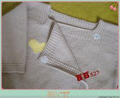 Hindistan Kalp - Bulut bebek giysileri (2013-45) - BB527 - bb527 mutlu dokuma gezisi