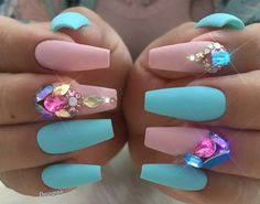 Pretty pink and sky blue set