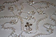 Breathtaking Crystal Lasso Wedding Rosaryelegant  Alabelys