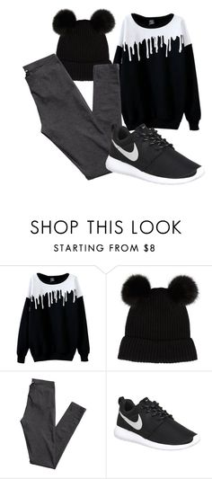 """""""Tumblr✋"""" by theyellowsubmarine ❤ liked on Polyvore featuring Accessorize, H&M and NIKE"""