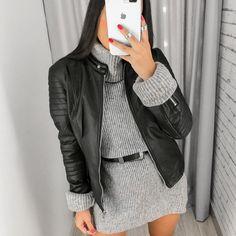 Biker Style, Winter Looks, Fashion Outfits, Womens Fashion, Fashion Brand, Night Out, Winter Outfits, Style Me, Ideias Fashion