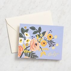 Rifle Paper Co. Robin Thank You Cards