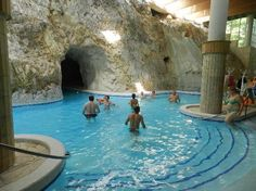 Cave Baths of Miskolc Tapolca: Main pool