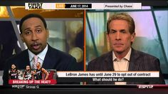 Espn First Take - What Should Lebron James Do ?