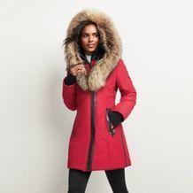 Fen-Nelli® Women's 'Artik Tek' Anorak With Genuine Fur Trimmed Hood Long Jackets, Winter Jackets, Canada Shopping, Fashion Outfits, Womens Fashion, Fashion Trends, Fur Trim, Canada Goose Jackets, My Style
