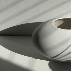 obj. 11.2 // redesigned and hand painted // white ceramic vessels