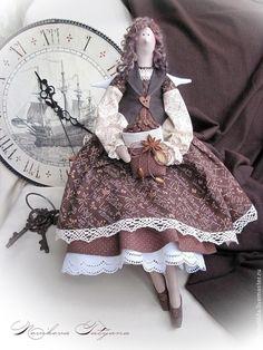 Куклы Тильды ручной работы. Ярмарка Мастеров - ручная работа Фея утреннего кофе )))    (Ангел в стиле Тильда). Handmade.