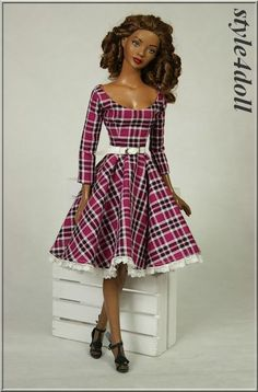 """style4doll - outfit for American Model 22"""" Tonner"""