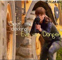 Geef me dekking-Eva van Dongen