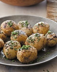 Bobby Flays Mustard Aioli-Grilled Potatoes with Fine Herbes