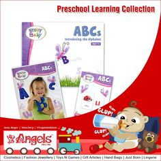 Reading activities guide your child through learning about letters, sight words and more the fun way. Preschool Learning Collections @ Angels Family Shop  Visit: www.angelsfamilystop.com  #MakeupTip #AngelsFamilyShop #Cosmetics #FashionJewellery #GiftArticles #HandBags #JustBorn #Lingerie #ToysNGames