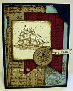 {scrap and stamp with mary}: The Open Sea