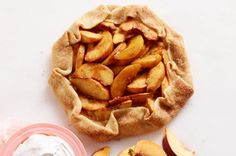 Freestyle Peach Tart recipe: I liked this better than the apple version, but it was a little messier to make. Will definitely make it again.