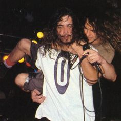 Eddie Vedder and Chris Cornell