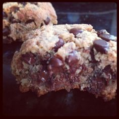 Paleo'ish on a Dime: The Only Chocolate Chip Cookie Recipe You'll Ever Need (Paleo /Gluten-free / Egg-free)