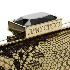 The Jimmy Choo CLOUD clutch clasp