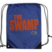 Florida Gators Slogan Drawstring Backpack - Royal Blue  $9.95
