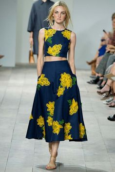 Michael Kors Spring 2015 Ready-to-Wear - Collection - Gallery - Look 1 - Style.com