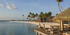 Veligandu Island Resort, North Ari Atoll, Maldives Hotel Reviews | i-escape.com  A stunning restaurant overlooking the sea heaven!  #MyEscapeCompetition
