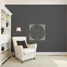 Simple Star Constellation Map - Vinyl Wall Art Decal for Homes, Offices, Kids Rooms, Nurseries, Schools, High Schools, Colleges, Universities, Events