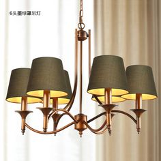 Luminaria Style Chandelier Retro Modern Personality Living Room Bedroom Lighting Restaurant Hotel Lamps Factory Direct Sales