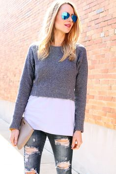 GiGi New York | Stone All In One Clutch | Fashion Jackson Blog