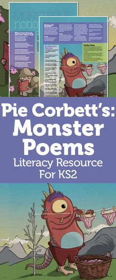 Pie Corbett Monster Poetry KS2 – Use Mythological Creatures And Invent Fantastical Beasts To Boost Reading And Writing