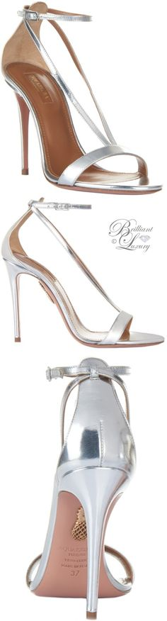 Brilliant Luxury by Emmy DE ♦ Aquazzura 'Casanova' Sandals