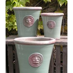 Kew Long Tom Pot - Chartwell Green Large | Planters & Pots #theorchardpintowin To plant lovelyness in