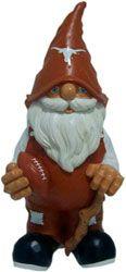 Texas Longhorns Garden Gnome