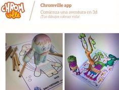 Chromville, aplicación de realidad aumentada para niños | Realidad Aumentada | Scoop.it