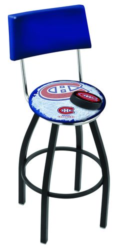 Montreal Canadiens Bar Stool L8B430MONCAN-D2 #recroom #coolstuff #gameroom#MontrealCanadiens #BarStool #CUSTOMMADE
