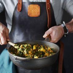 Pompoencurry met boerenkool