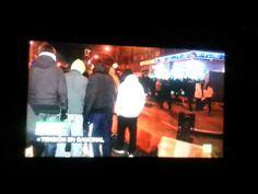 Reportera de La Sexta narra manifestación Gamonal