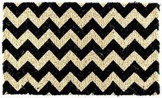 Black & Natural Chevron Doormat HB-101 http://www.amazon.com/dp/B00P8QPOHK/ref=cm_sw_r_pi_dp_DmrHub119RRB8