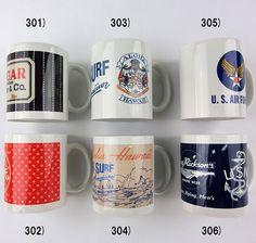 No.IK02205 BUZZ RICKSON'SSUGAR CANESUN SURFMUG CUP